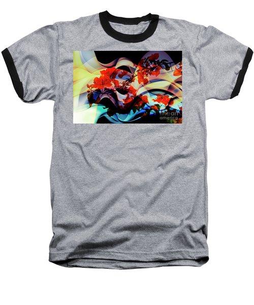 Baseball T-Shirt featuring the photograph Bougainvillea At Joe's Secret Garden IIi by Al Bourassa