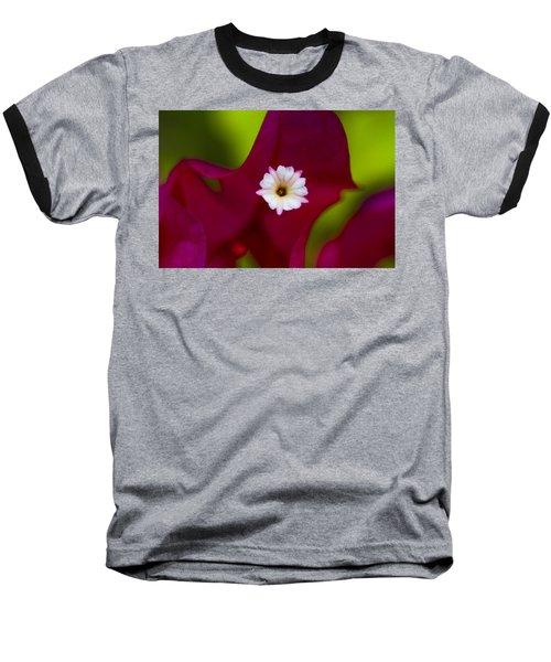 Bougainvillea Baseball T-Shirt by Marlo Horne