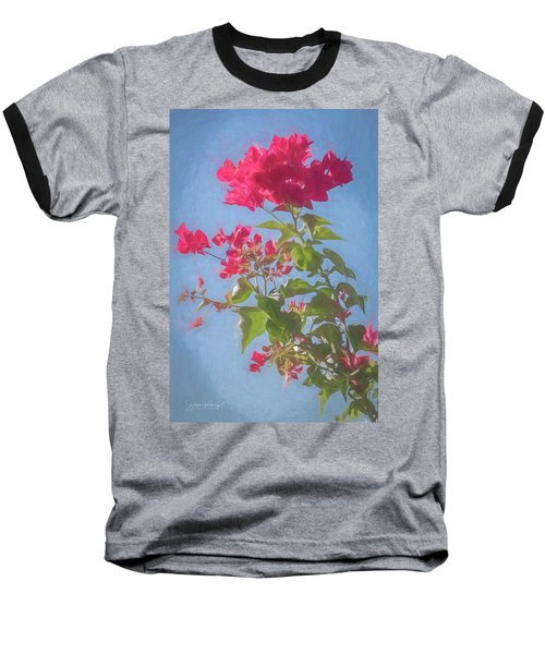 Bougainvillea Morning Baseball T-Shirt