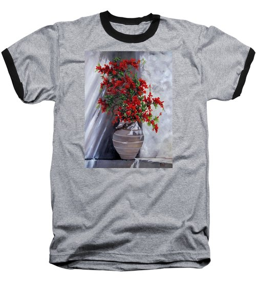 Bougainvillia Baseball T-Shirt