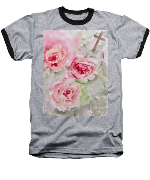 Bought With A Price Baseball T-Shirt by Trilby Cole