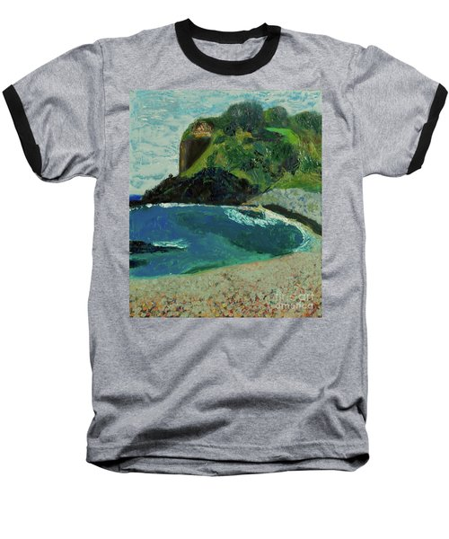 Baseball T-Shirt featuring the painting Boulder Beach by Paul McKey