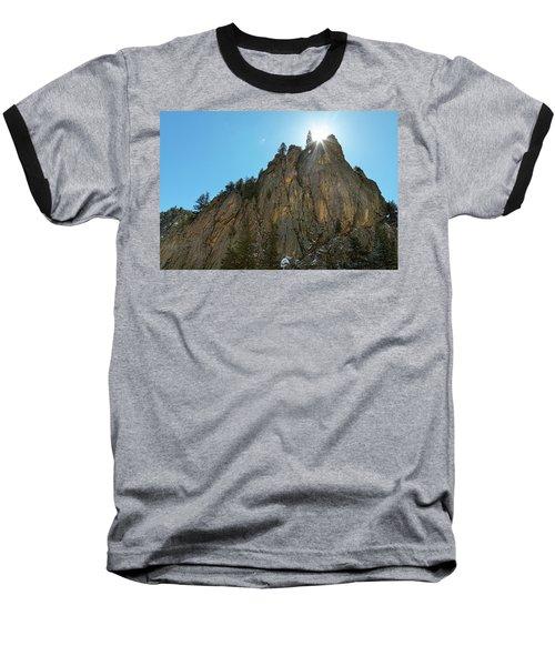 Baseball T-Shirt featuring the photograph Boulder Canyon Narrows Pinnacle by James BO Insogna