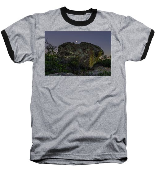 Boulder Moonrise Baseball T-Shirt