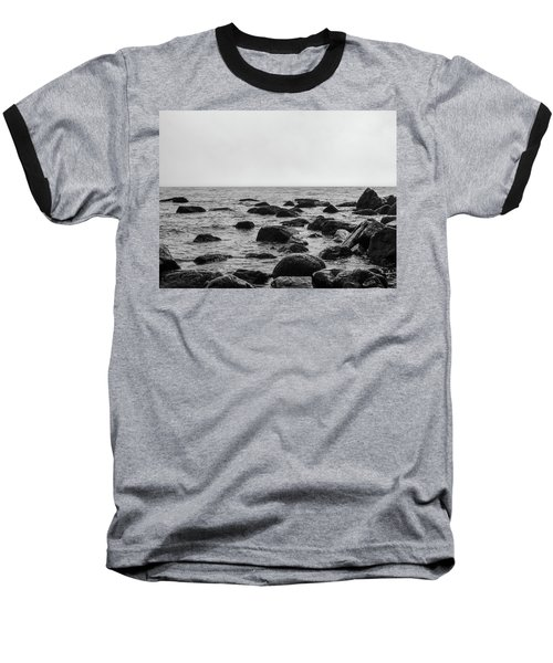 Boulders In The Ocean Baseball T-Shirt
