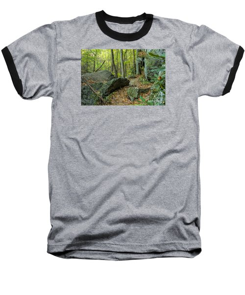 Boulders On The Bear Hair Gap Trail Baseball T-Shirt