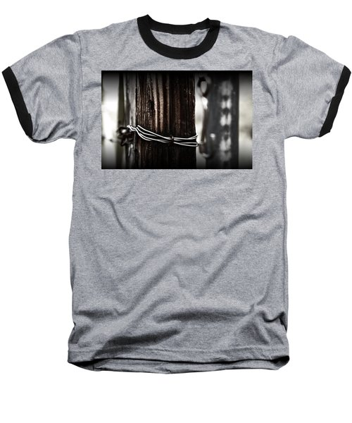 Baseball T-Shirt featuring the photograph Bound  by Mark Ross