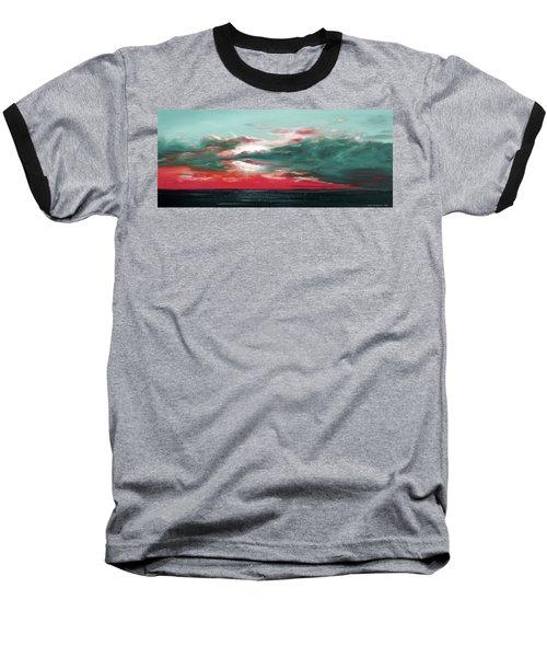 Bound Of Glory - Panoramic Sunset  Baseball T-Shirt