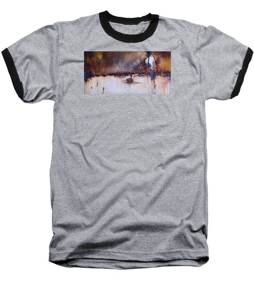 Boundary Waters Baseball T-Shirt by Theresa Marie Johnson