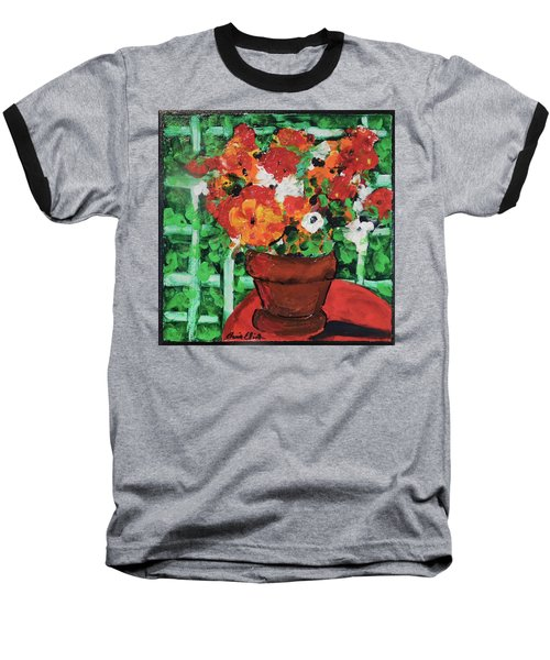 Bouquet A Day Floral Painting Original 59.00 By Elaine Elliott Baseball T-Shirt