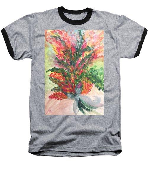 Bouquet And Ribbon Baseball T-Shirt