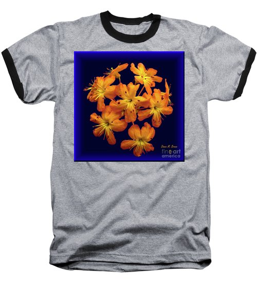 Baseball T-Shirt featuring the digital art Bouquet In A Box by Donna Brown