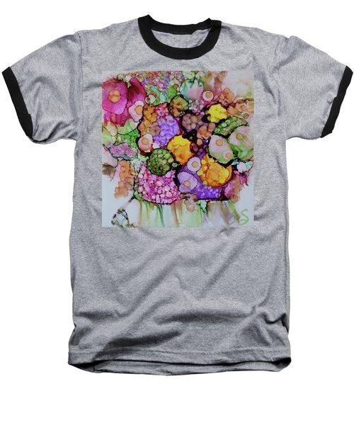 Bouquet Of Blooms Baseball T-Shirt