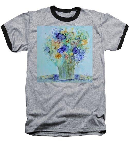 Bouquet Of Blue And Gold Baseball T-Shirt