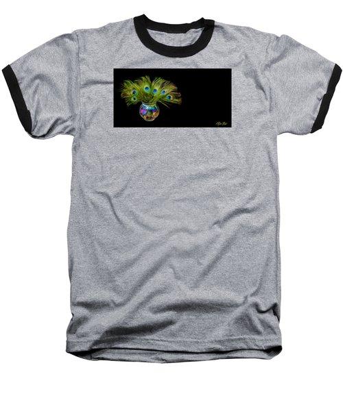 Bouquet Of Peacock Baseball T-Shirt