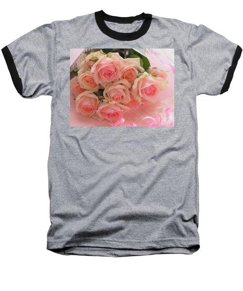 Bouquet Of Sweetness Baseball T-Shirt by Rachel Mirror