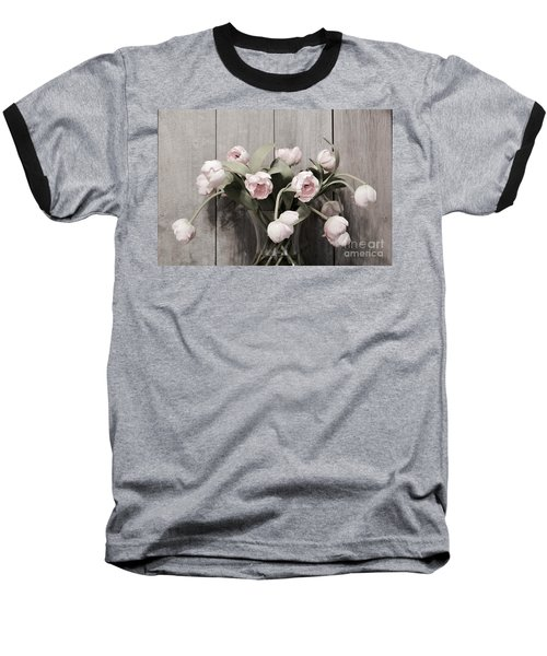 Bouquet Of Tulips Baseball T-Shirt by Jeannie Rhode