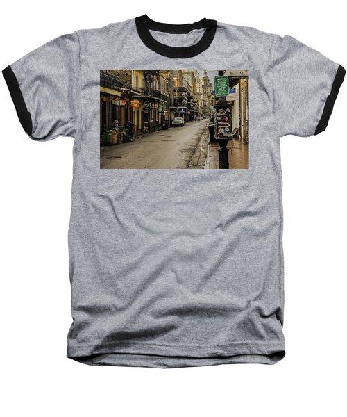 Bourbon Street By Day Baseball T-Shirt