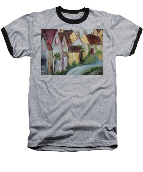 Bourton On The Water Baseball T-Shirt by Roxy Rich