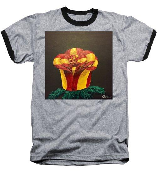 Bow Rose Baseball T-Shirt