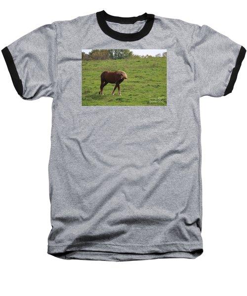 Bow  Baseball T-Shirt by Yumi Johnson