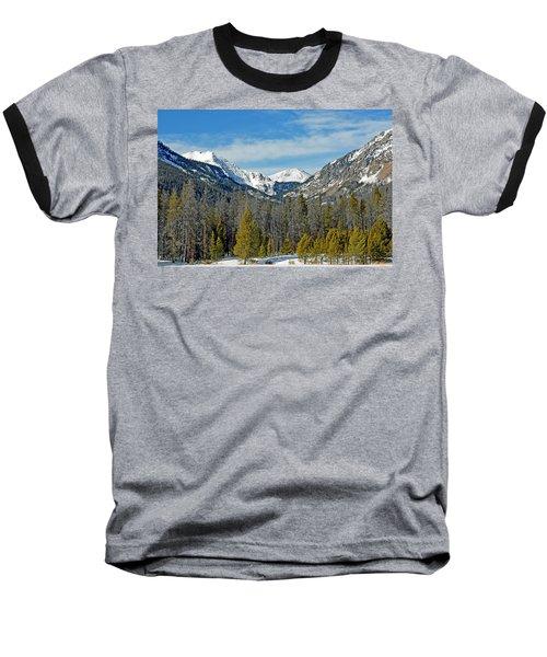 Bowen Mountain In Winter Baseball T-Shirt