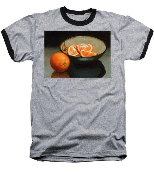 Bowl Of Oranges Baseball T-Shirt