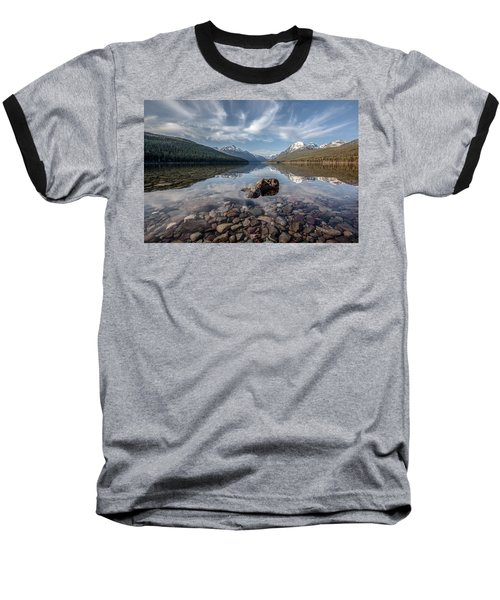Bowman Lake Rocks Baseball T-Shirt