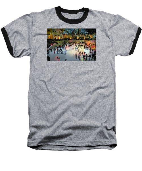 Box Of Crayons Baseball T-Shirt by Diana Angstadt