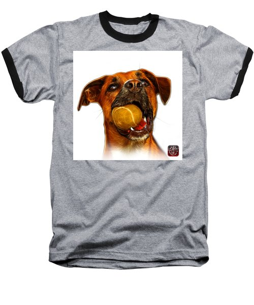 Boxer Mix Dog Art - 8173 - Wb Baseball T-Shirt