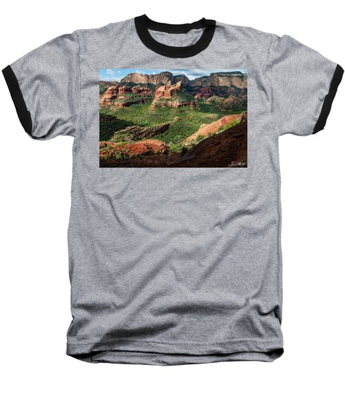 Boynton Canyon 05-942 Baseball T-Shirt by Scott McAllister