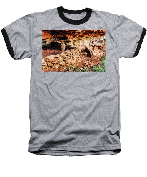 Boynton Canyon 08-012 Baseball T-Shirt by Scott McAllister