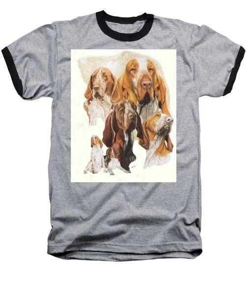 Bracco Italiano Medley Baseball T-Shirt