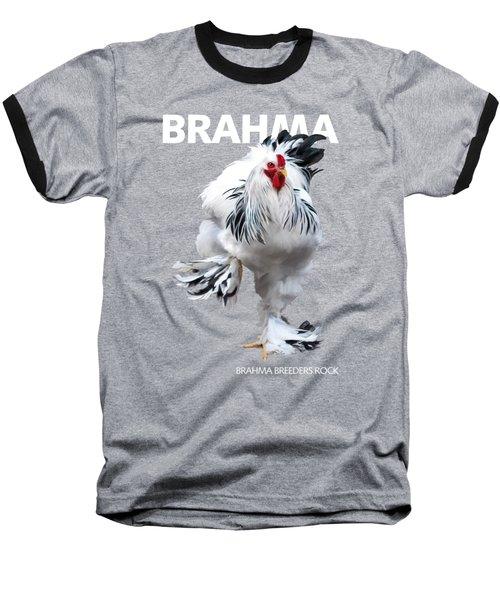 Brahma Breeders Rock T-shirt Print Baseball T-Shirt