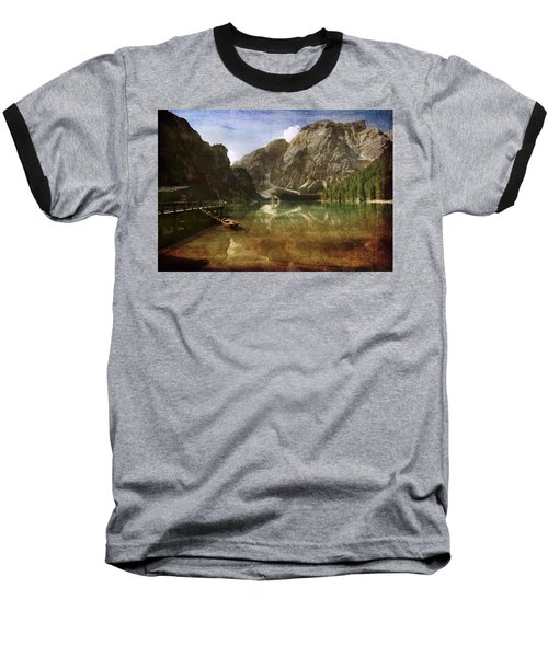 Braies Lake Baseball T-Shirt