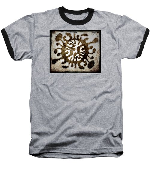 Brain Illustration Baseball T-Shirt by Lenny Carter
