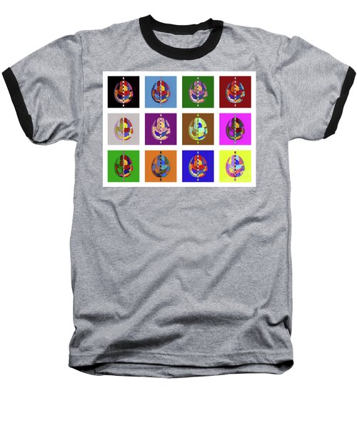 Brainbow Baseball T-Shirt