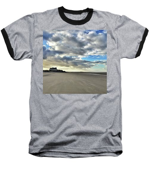 Brancaster Beach This Afternoon 9 Feb Baseball T-Shirt