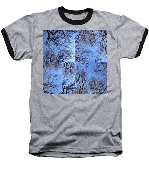 Baseball T-Shirt featuring the photograph Branches by Nora Boghossian