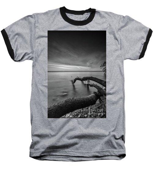 Branching Out - Bw Baseball T-Shirt