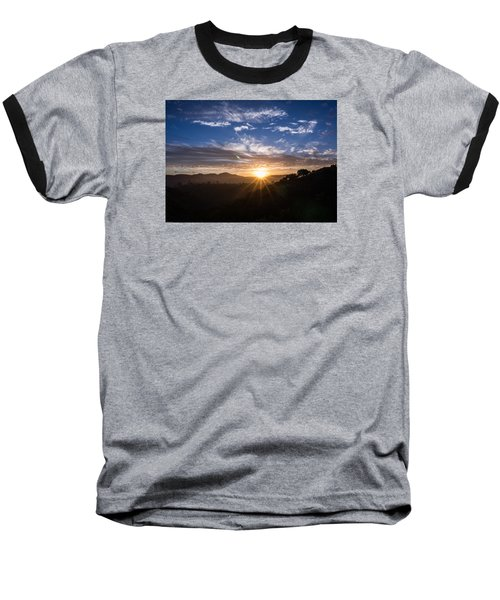 Baseball T-Shirt featuring the photograph Brand New Day  by Jeremy McKay