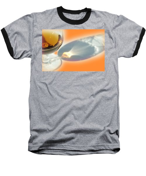 Brandy Glass Reflection Baseball T-Shirt
