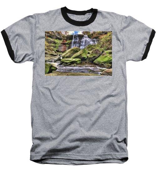 Brandywine Falls Baseball T-Shirt
