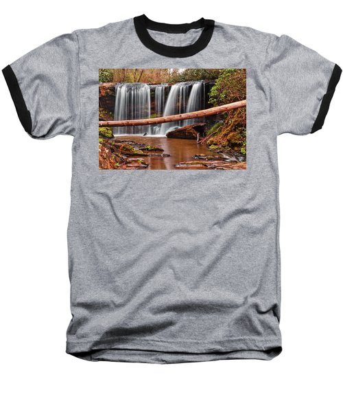 Brasstown Falls 002 Baseball T-Shirt by George Bostian