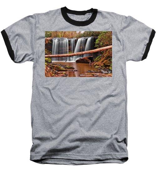 Brasstown Falls 002 Baseball T-Shirt