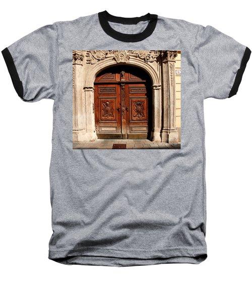 Bratislava Doors Baseball T-Shirt