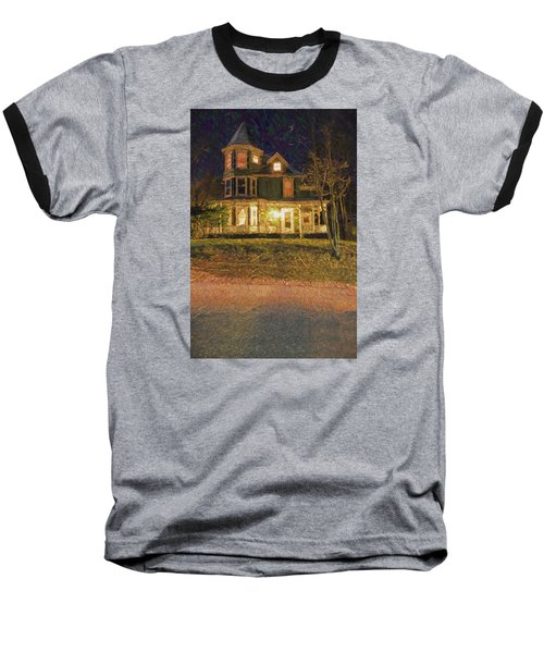 Brattleboro Victorian Baseball T-Shirt by Tom Singleton