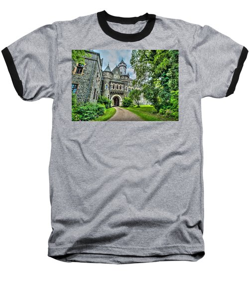 Baseball T-Shirt featuring the photograph Braunfels Castle by David Morefield