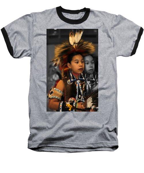 Brave And His Shadow Baseball T-Shirt