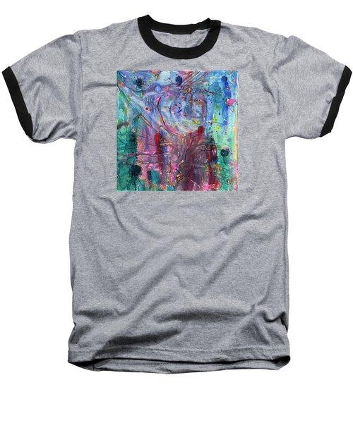 Brave New World Baseball T-Shirt by Phil Strang